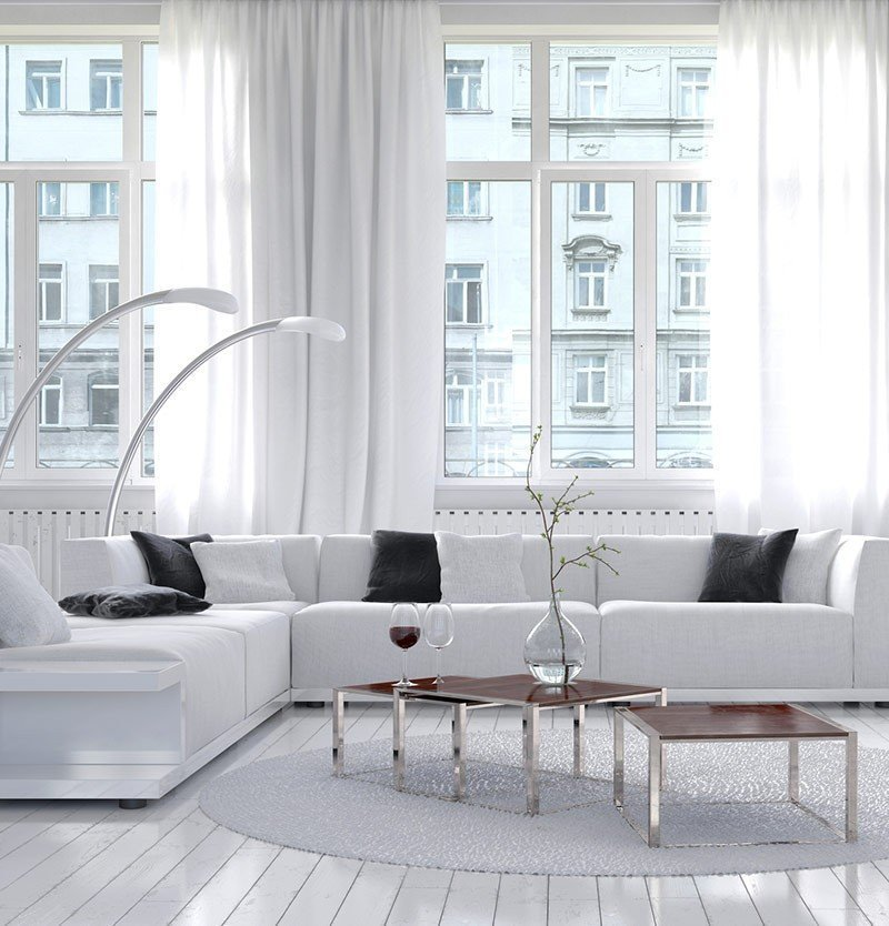 22 Most Creative White Living Room Designs | Creative Ideas